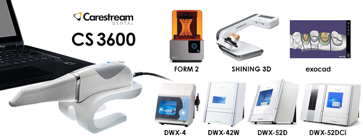 Carestream CS3600 & CADCAMセミナー